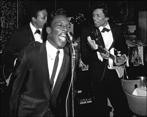 Wilson Pickett Out Front!  Guitarists Jimi Hendrix and Cornel Dupree