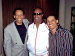 Clarence Burke Jr. , Stevie  Wonder & Keni Burke