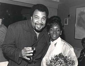 Goerge with Patrice Rushen