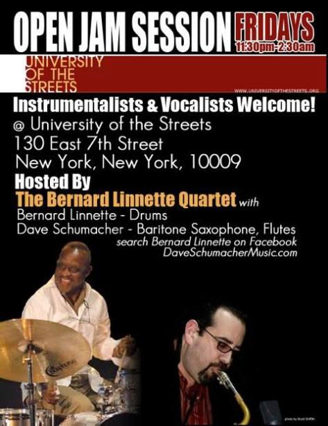 Bernard Linnette  Quintet Presents!!