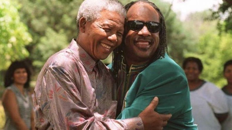 stevie womder and mandela