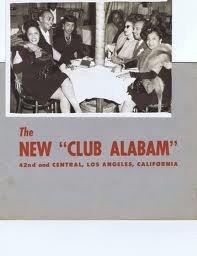 Club Alabam   flyer