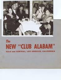 Club Alabam   flyer