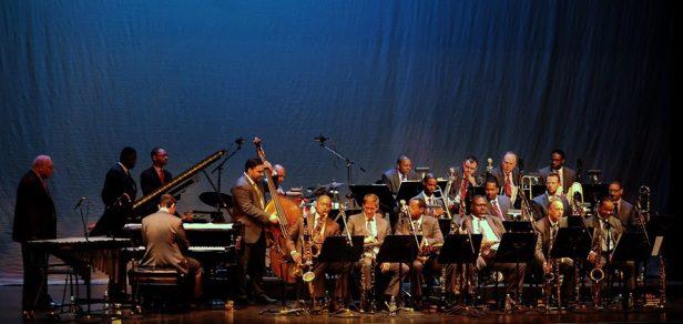 full orchestra  Marsalis