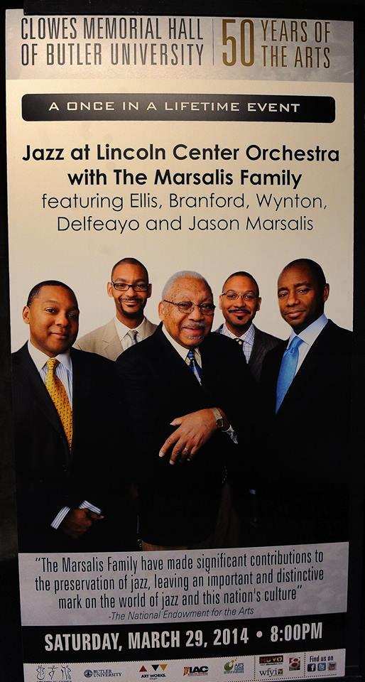 Poster of Marsalis family