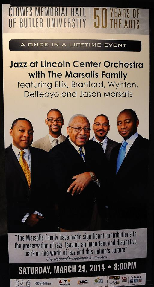 Poster of Marsalis family