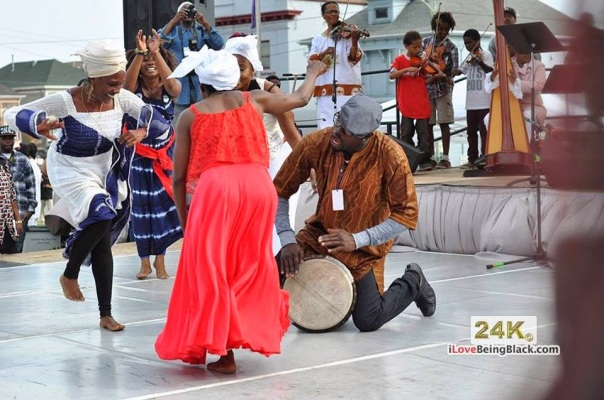 african Dance students