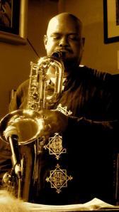 Dale Fielder Bari sax.