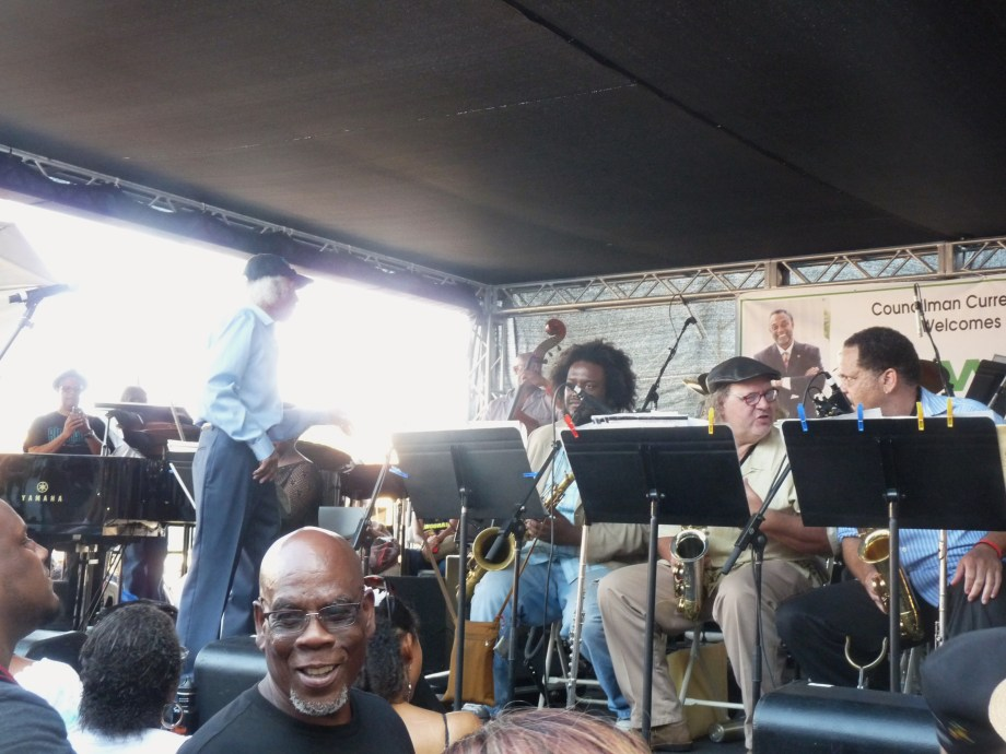 Gerald Wilson  Central ave Jazz fest 2014