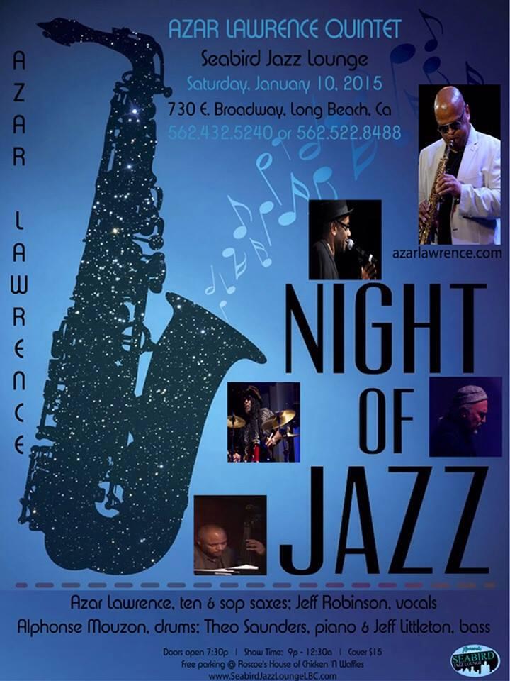 azar Lawrence quintet 2015