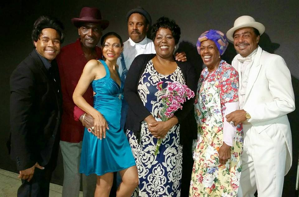 CAST of the Hit Musical  HOWLING BLUES, DIRTY DOGS  the story of Big Mama Thornton