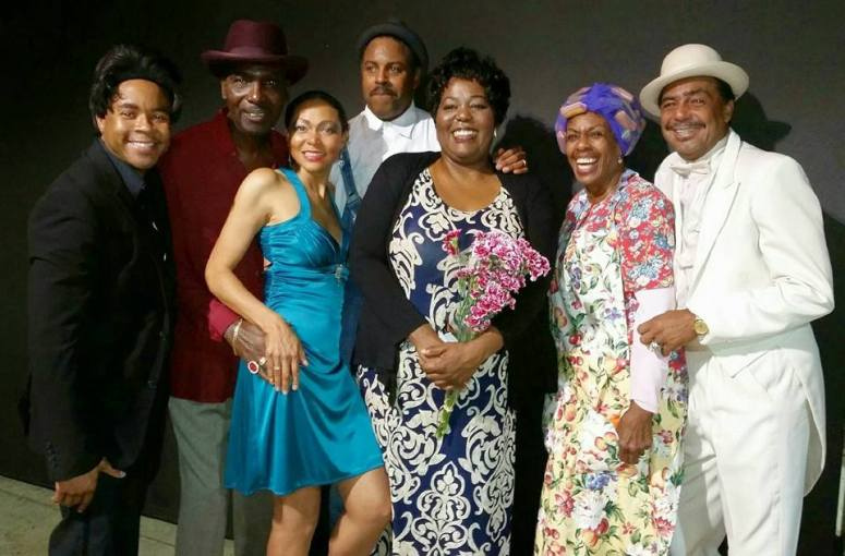 Cast of Howling Blues Dirty Dogs