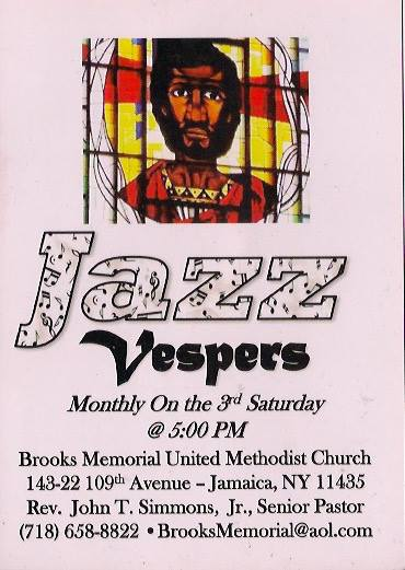 Jazz Vespers  Julian Meyers