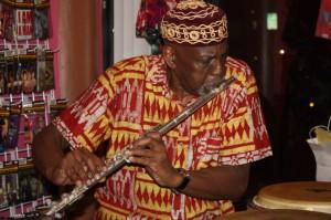 Derf Reklaw on Flute