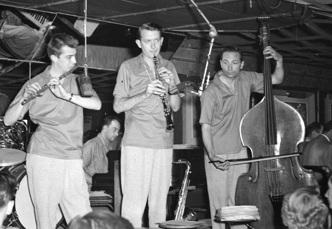 Howard shown with members of his Allstars band in early 1950s in Los  Angeles