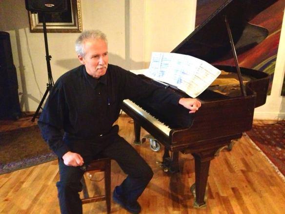 San Jose based music educator/transcriptionist,arranger James Armstrong