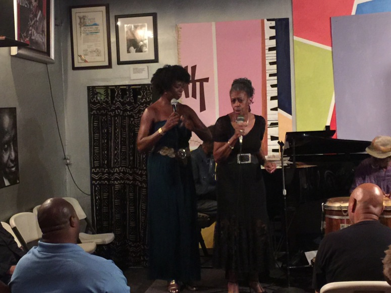 Vocalists Pat Sligh & daughter Jana Wilson