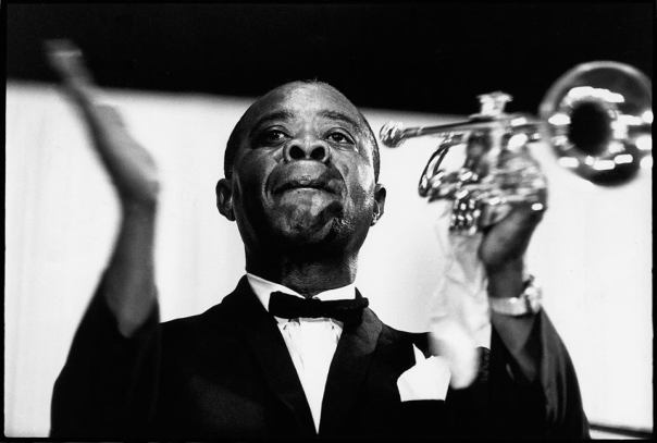 The Great Jazz Pioneer trumpeter Louie Armstrong