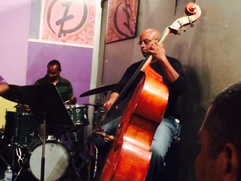 Ishmael Hunter Drums & Reggie Carson Bass
