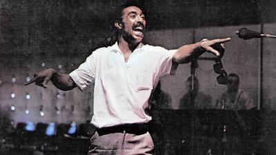 Gerald Wilson reaching out pix
