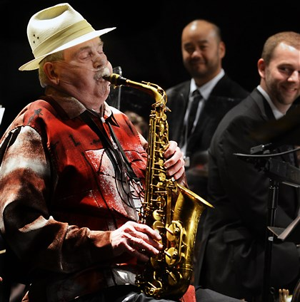 Phil Woods photos by Nate Guidry