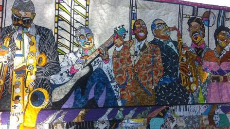 hand made Quilt made by artist, Ramesses