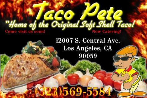 Taco Petes Mack Jones